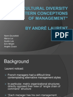 the cultural diversity of western conceptions of management
