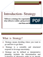 Chap1 Type of Strategy