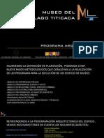 Programa - Museo Del Lago Titicaca
