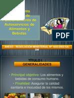reglamento de Autoservicio de Ayb