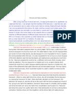 Exemplification Essay Sample