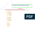 benchmark assessment examples