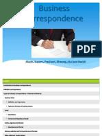 Business Correspondence-2 Oct 2014