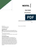 Motorola i776 for Sprint Nextel