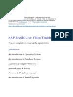 Sap Basis Training !! Sap Basis Online Training !! Sap Basis Video Training !! Sap Basis Training in Usa