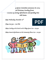 Clermont Village Green Holiday Caroling