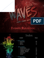 Waves 2014 Events Rulebook