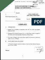 Scheffler v NCO Financial Systems Inc FDCPA Complaint