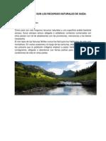 Cuales Son Los Recursos Naturales de Suiza