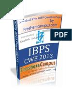 IBPS CWE PO Kit