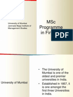 MSc Finance