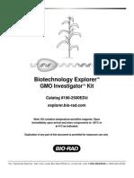 Gmo Investigator Manual