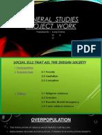General Studies Project Work