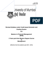 4.27 Masters in Financial Management (MFM)