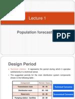 population forecasting