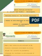 MODELO DE AUTO-AVALIAÇÃO DA BE - MONCARAPACHO