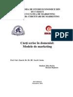 Tema Modele de Markteting