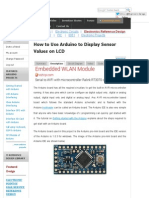 How to Use Arduino to Display Sensor Values on LCD_ Arduino LCD Tutorial With Circuit Diagram & C Code