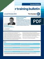 Member Training Week Bulletin