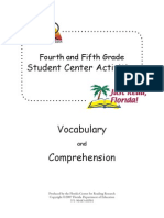 Fourth and Fifth Grade Comprehension Intro