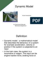 Train Dynamic Model