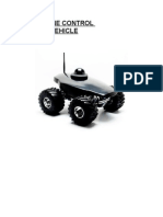 Cell Phone Control Robotic Vehicle