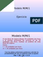 Ejercicio mm1