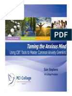 Taming the Anxious Mind - Lecture Dublin 2014