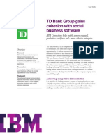 TD bank - IBM Case study
