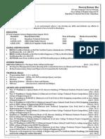 Good Resume Format