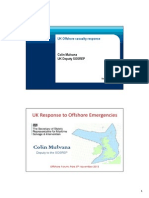 Uk Offshore Casualty Response Colin Mulvana Uk Deputy Sosrep