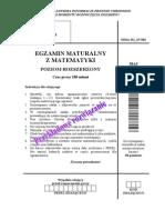 Matura 2008 - matematyka - poziom rozszerzony - odpowiedzi do arkusza (www.studiowac.pl)