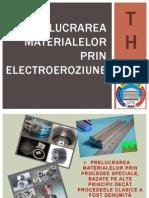 Prelucrarea Materialelor Prin Electroeroziune