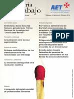 Enfermería del Trabajo, volumen 4, número 4, 2014