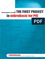 Creating the first Project in mikroBasic for PIC