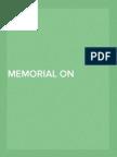 Memorial on Behalf of the Petitioner