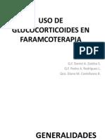 Uso de GlucoCorticoides en Farmacoterapia