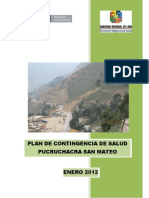 Plan Contingencia San Mateo