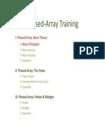 2010 Phased Array Training Part 01 Basic Theory