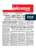 The Spokesman Weekly Vol. 34 No. 45 August 12, 1985