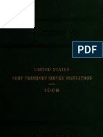 (1908) United States Army Transport Service Regulations