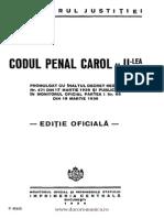 Codul Penal Carol II