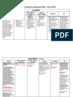term 4 curriculum and assessment plan - 2014
