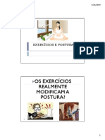 Exercicios e Postura