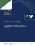 Aurich Declaration 2013