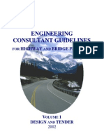 Engineering Consulting Guidelines for Highway, Bridge 2002