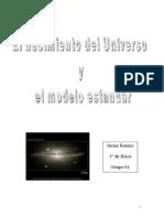 El Nacimiento Del Universo y El Modelo Estandar