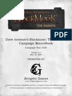 Blackmoor Campaign Source Book