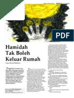 Hamidah Tak Boleh Keluar Rumah ( cerpen Bernard Batubara)