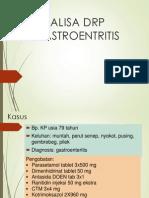 ANALISA DRP GASTROENTRITIS